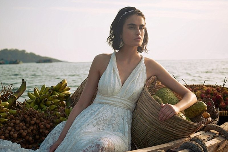 Picture Of sensuous yet comfy bhldn honeymoon outfits collection  13