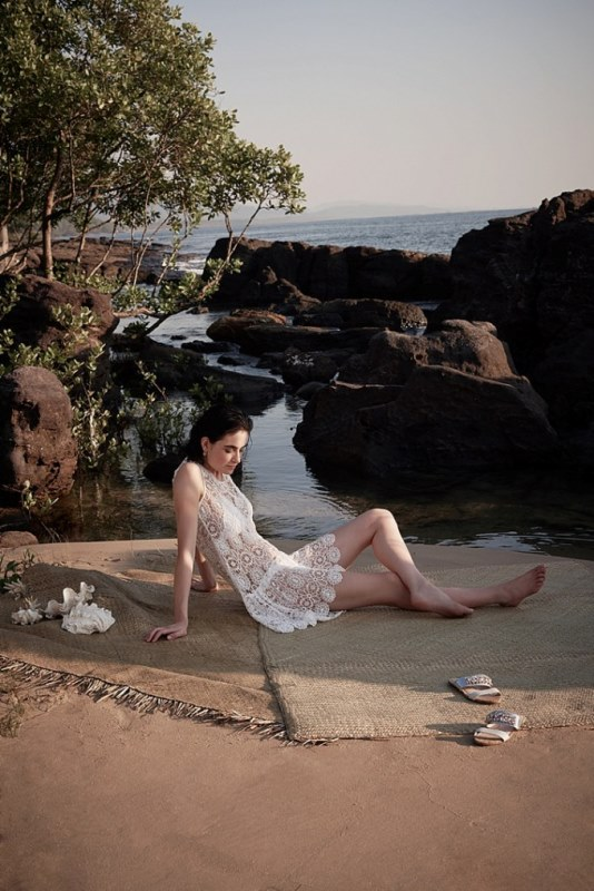 Picture Of sensuous yet comfy bhldn honeymoon outfits collection  15