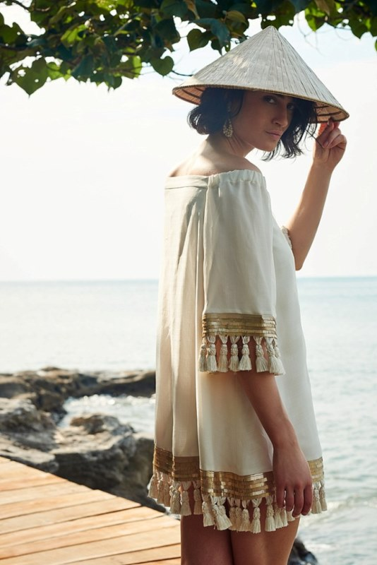 Picture Of sensuous yet comfy bhldn honeymoon outfits collection  2