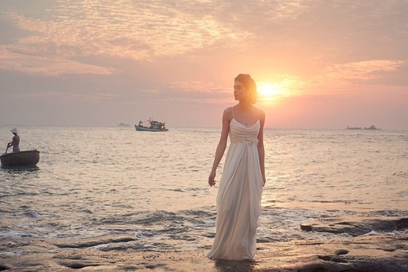 Picture Of sensuous yet comfy bhldn honeymoon outfits collection  4