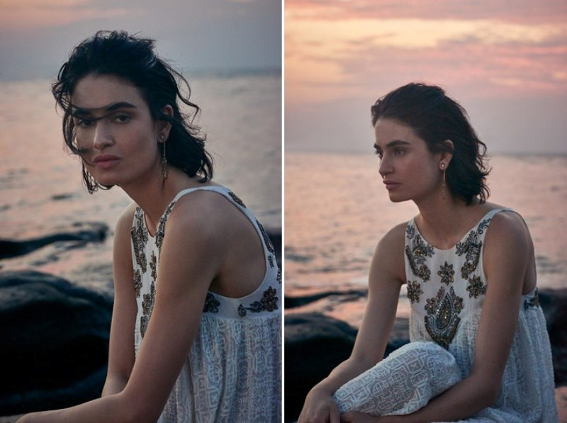 Picture Of sensuous yet comfy bhldn honeymoon outfits collection  9