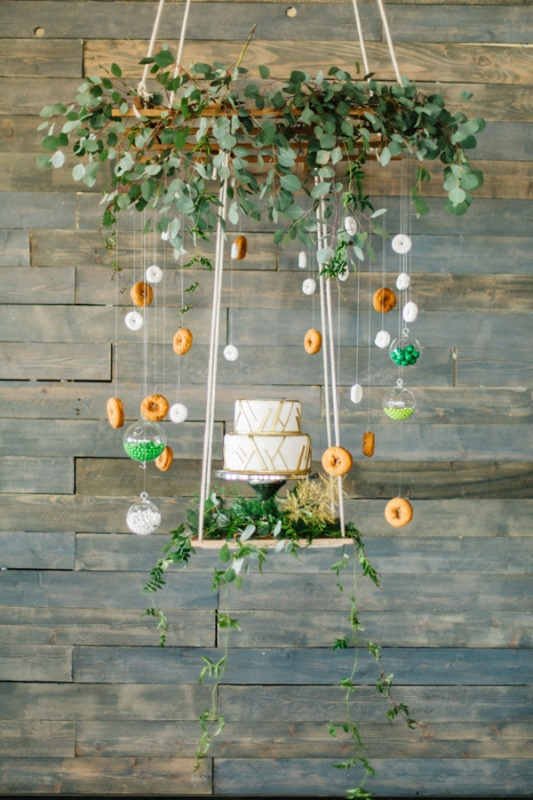Whimsical Urban Garden Wedding Shoot