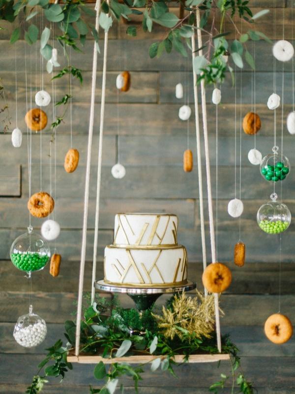 Picture Of whimsical urban garden wedding shoot  14