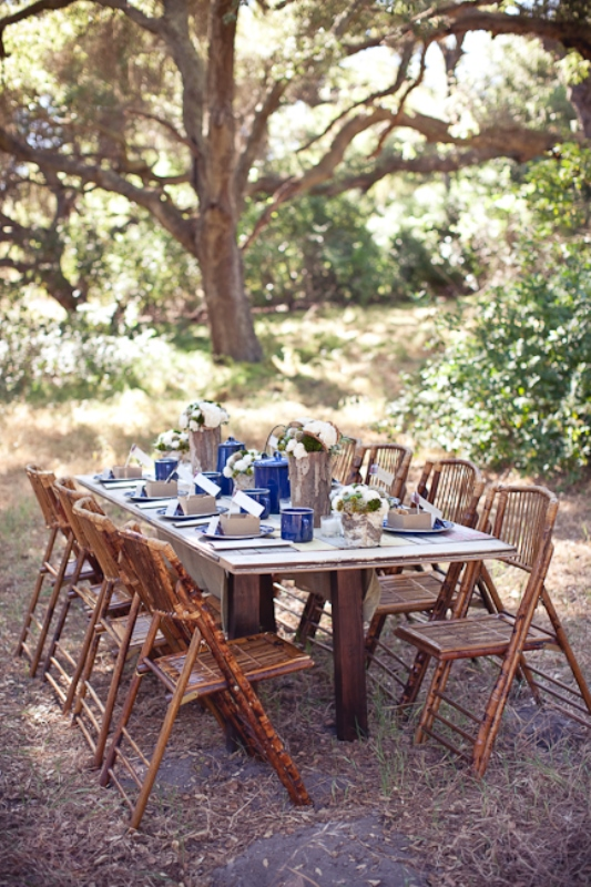 Picture Of cozy and fun camping bridal shower ideas  3