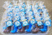 cowgirl boot shaped cookies are cute and fun bridal shower favors