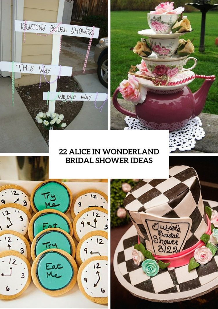 cbfe2fa6602 22 Fairy Alice In Wonderland Themed Bridal Shower Ideas - Weddingomania