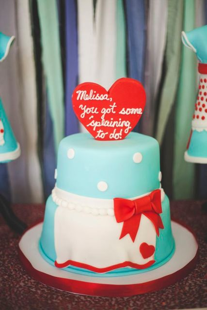 Retro Housewife Bridal Shower Ideas