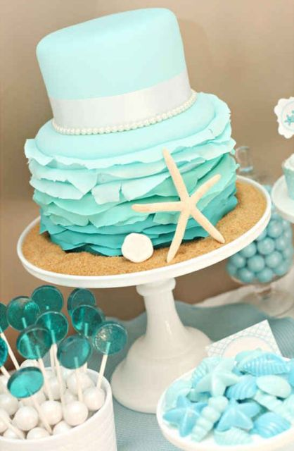 Picture Of Fantastic Mermaid Bridal Shower Ideas 11
