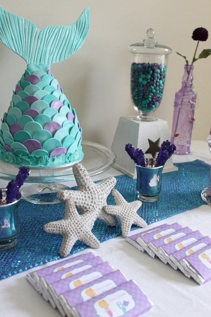 Picture Of Fantastic Mermaid Bridal Shower Ideas 23