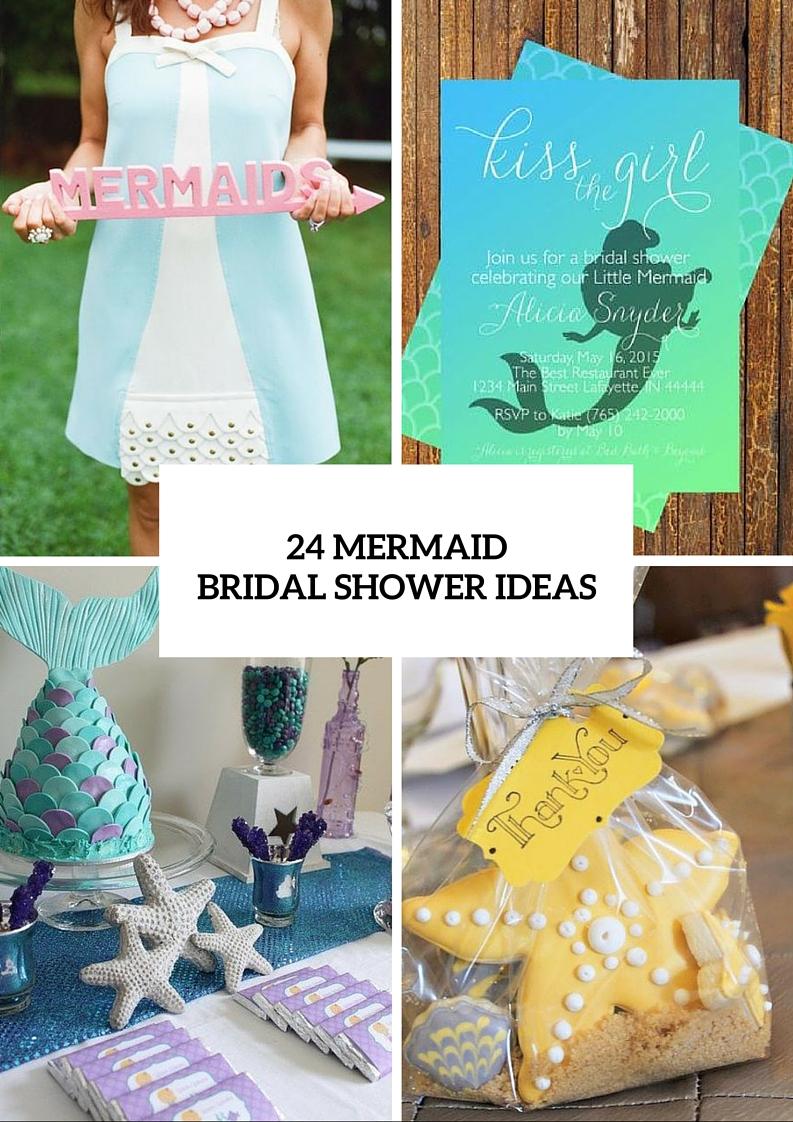 Picture Of Fantastic Mermaid Bridal Shower Ideas 25
