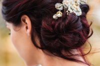 26-chic-messy-chignon-wedding-hairstyles-11
