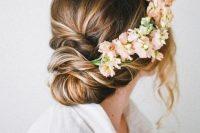 26-chic-messy-chignon-wedding-hairstyles-12