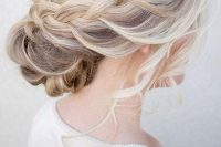 26-chic-messy-chignon-wedding-hairstyles-13