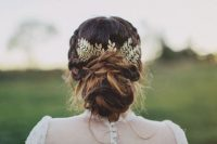 26-chic-messy-chignon-wedding-hairstyles-15