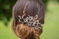 26-chic-messy-chignon-wedding-hairstyles-17