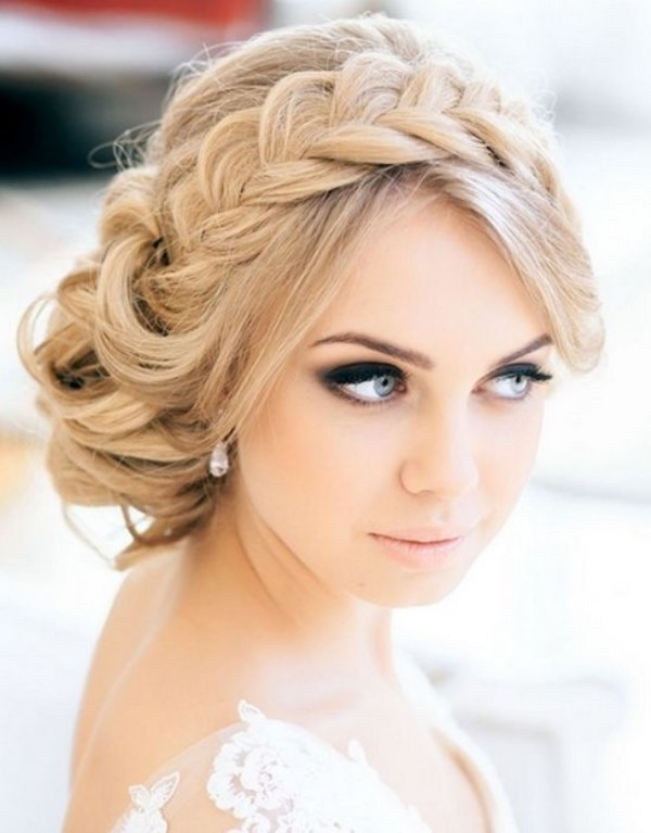 Picture Of chic messy chignon wedding hairstyles  22