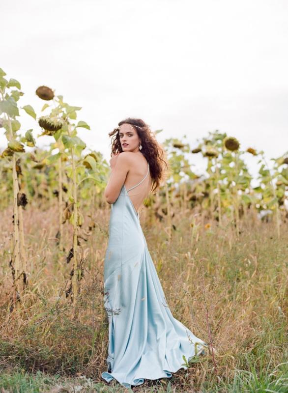 26 Serenity Blue Wedding Dresses That Inspire Weddingomania