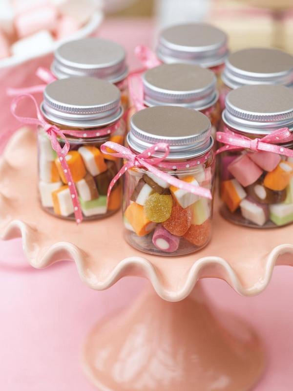Candy Tiny Jars Favors