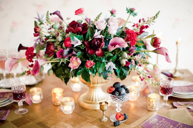 Centerpiece for wedding table