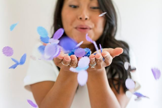 Colorful DIY Confetti For Wedding Ceremonies