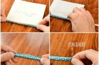 Colorful DIY Origami Wedding Wishes 5