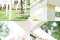 Cute DIY Floral Pergola For Outdoor Weddings 3