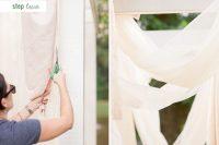 Cute DIY Floral Pergola For Outdoor Weddings 4
