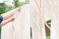 Cute DIY Floral Pergola For Outdoor Weddings 5