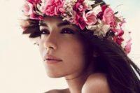 Delicate Tropical Bridal Makeup Look