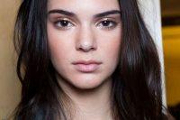 Dewy Kendall Jenner Makeup Look