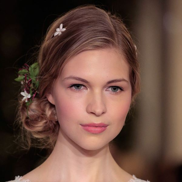 Picture Of English Rose Glow Tropical Bridal Makeup