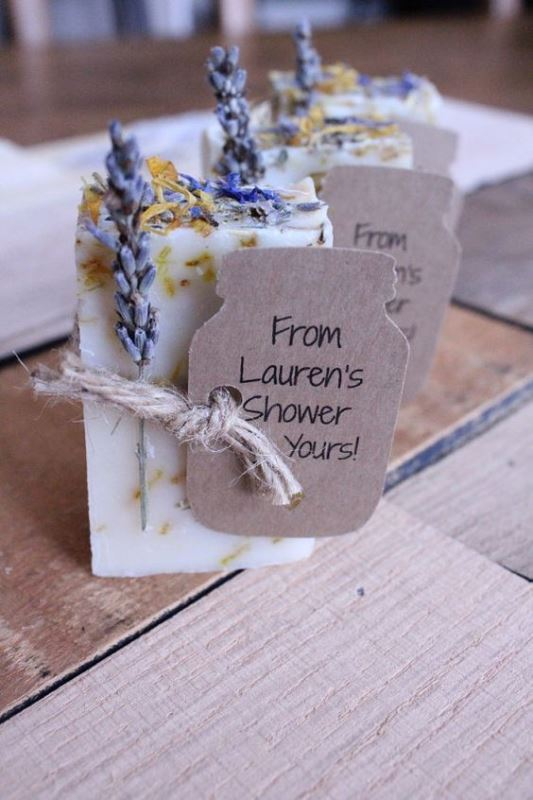 25 inexpensive yet cute handmade bridal shower favors