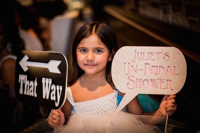 Idea for Alice in Wonderland bridal shower