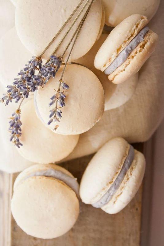 Lavender Macarons Favors