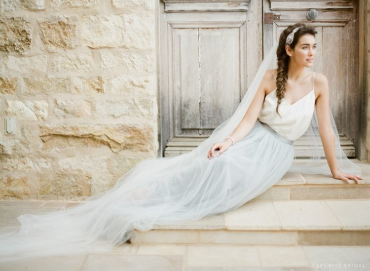 Powder Blue Gown By Temperly London