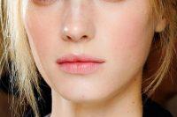 Rose Pink And Gold Beach Wedding Makeup