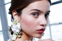 Rosy Pink Bridal Makeup From Marchesa 2017 Fashion Show