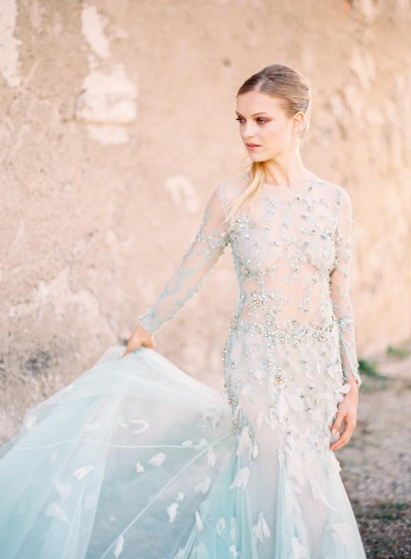 Serenity Blue Gown By Cinobi Cinobi
