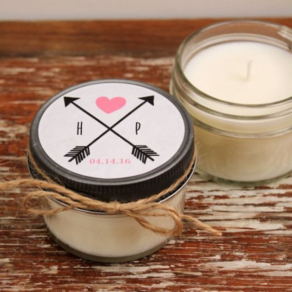 Soy Candle Bridal Shower Favors