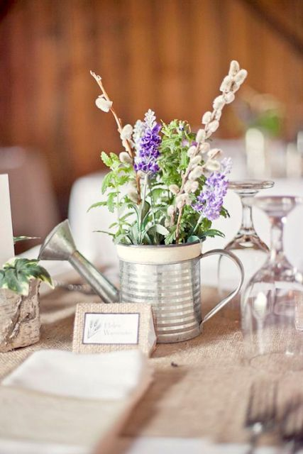 Rustic Wedding Table Number Ideas images