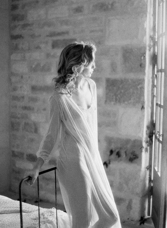 Delicate Bridal Boudoir Shoot At The Sunstone Villa