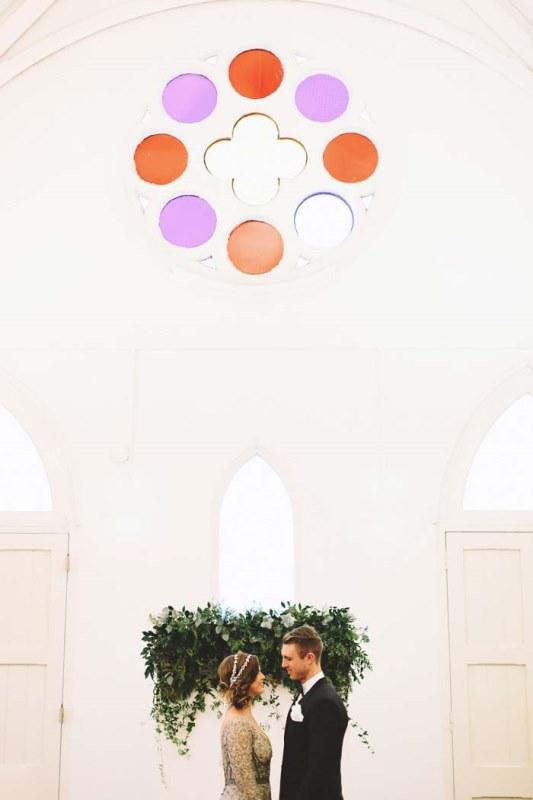 Picture Of marble metallics glamorous wedding shoot  1