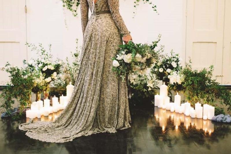 Picture Of marble metallics glamorous wedding shoot  17