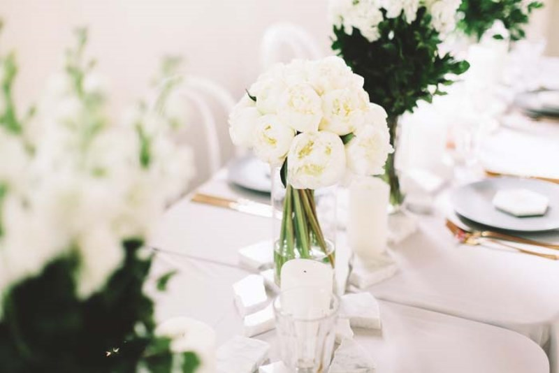 Picture Of marble metallics glamorous wedding shoot  9