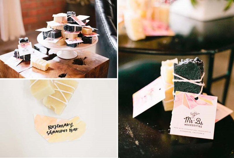 Picture Of modern geometric bridal shower shoot  15