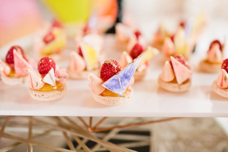 Picture Of modern geometric bridal shower shoot  21