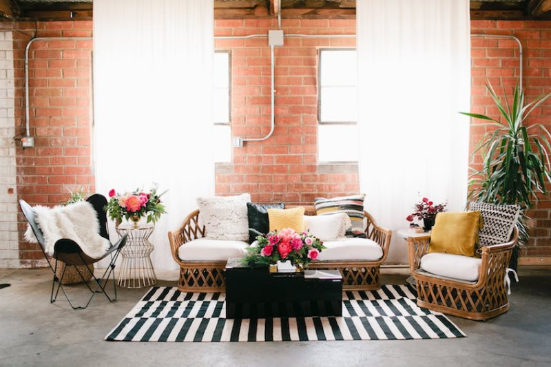 Picture Of modern geometric bridal shower shoot  3