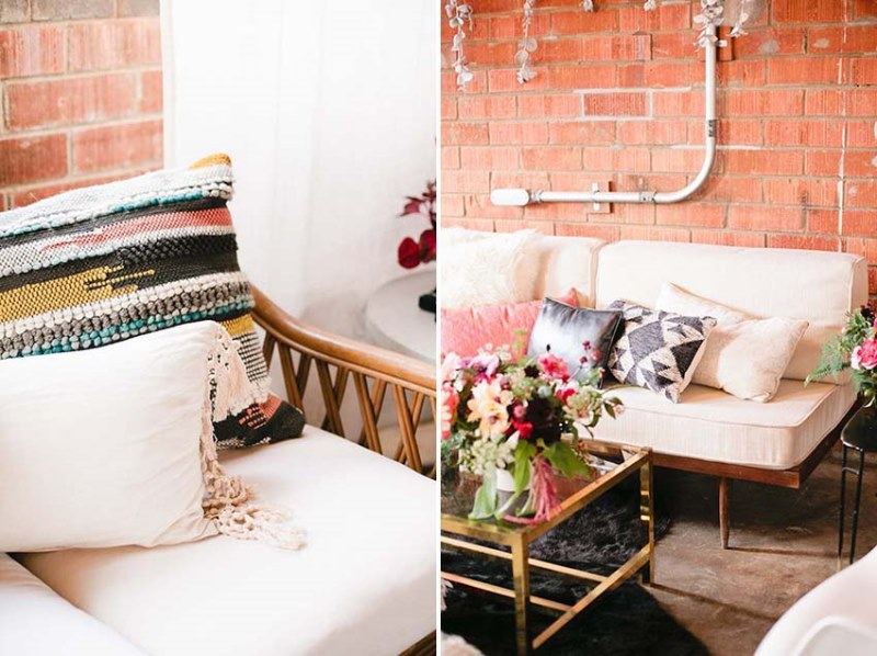 Picture Of modern geometric bridal shower shoot  7