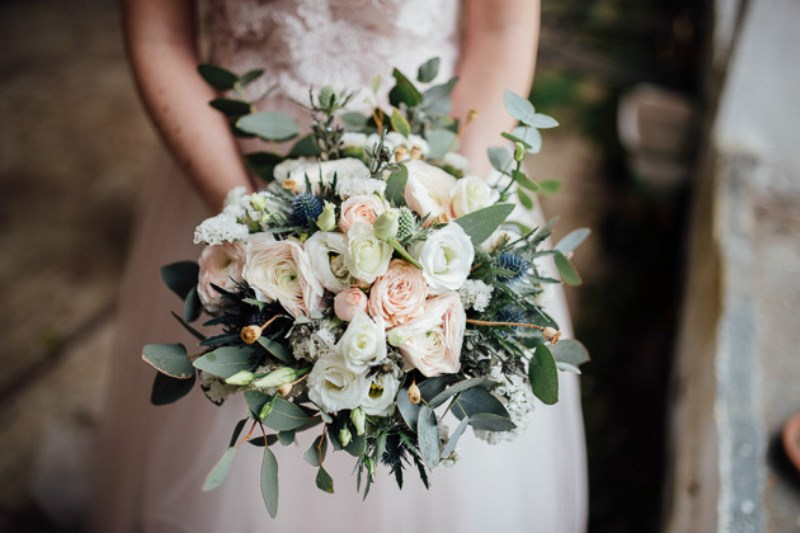 Picture Of romantic and artistic impressionism themed wedding shoot  5
