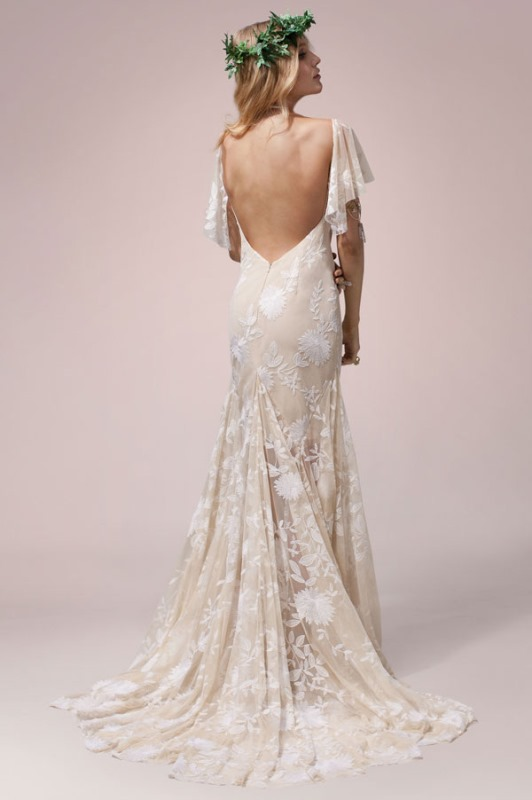 Picture Of rue de seine nomadic love boho wedding dress collection  23